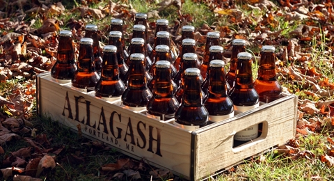 Case of Allagash House Beer