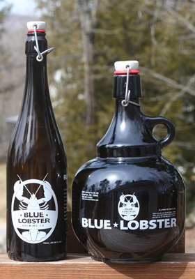 Blue Lobster Growlers