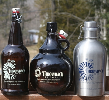 Throwback Growlers