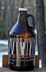 White Birch Growler