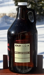 Newburyport Brewing Growler