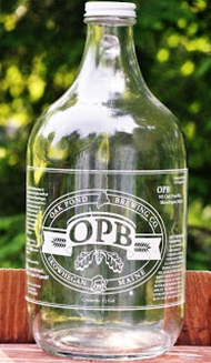 Oak Pond Growler