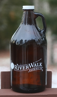 Riverwalk Brewing Growler