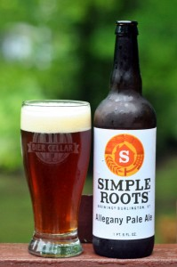Simple Roots Allegany Pale Ale