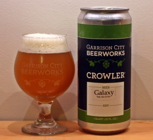 Garisson City BeerWorks Galaxy