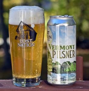 Lost Nation Vermont Pilsner