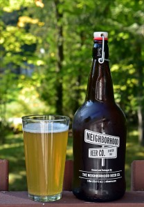 Neighborhood Beer Hallowed Hammock Blonde